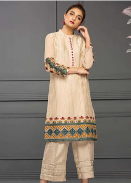 XENIA Formals Embroidered  Stitched Kurtis XE18-P2 09