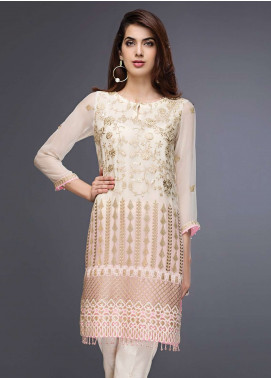Xenia Embroidered  Stitched Kurtis XE18P 01
