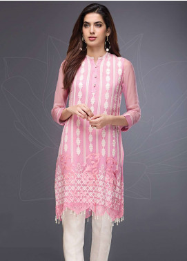 Xenia Embroidered  Stitched Kurtis XE18P 3A