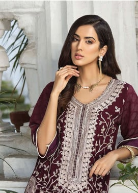 Xenia Formals Embroidered Khaadi Net Stitched 2 Piece Suit XE19-P5 01 BERYL