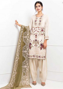XENIA Formals Embroidered Khaadi Net Stitched 3 Piece XE20F 10-CARMEN