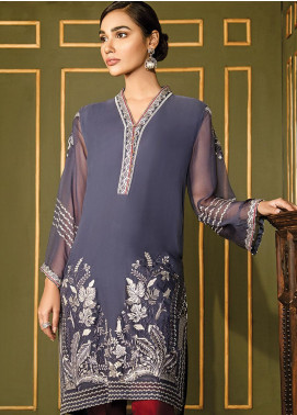 XENIA Formals Embroidered Chiffon Stitched 2 Piece Suit XE19WE 09 LOEI