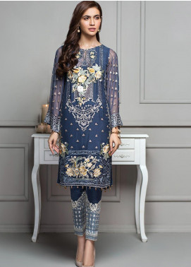 XENIA Formals Embroidered  Stitched 2 Piece Suit XE20SS 04 TUSHAN