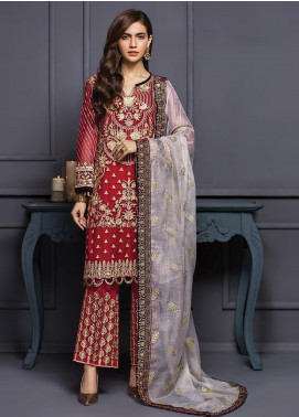 XENIA Formals Embroidered  Stitched 3 Piece Suit XE20SS 05 SONMIANI