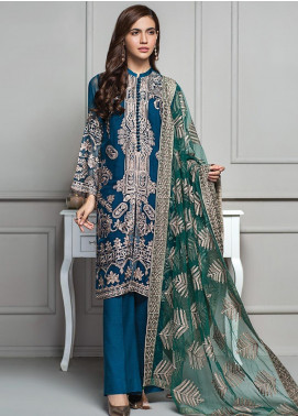 XENIA Formals Embroidered  Stitched 3 Piece Suit XE20SS 08 ASTOLA