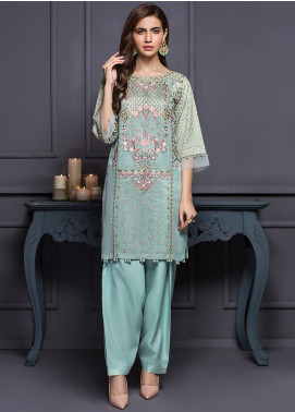 XENIA Formals Embroidered  Stitched 3 Piece Suit XE20SS 09 NURIYE