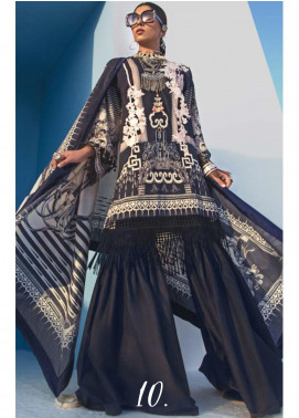 Yes Clothing | Yes - Young Energetic Social Embroidered Lawn Unstitched 3 Piece Suit YS20SL 10 - Summer Collection