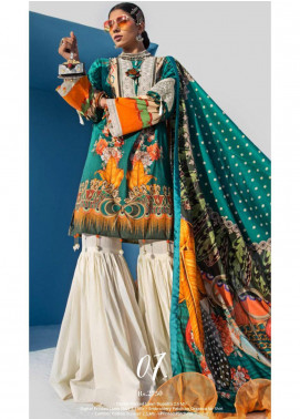 Yes Clothing | Yes - Young Energetic Social Embroidered Lawn Unstitched 3 Piece Suit YS20SL 7 - Summer Collection