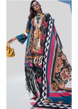 Yes Clothing | Yes - Young Energetic Social Embroidered Lawn Unstitched 3 Piece Suit YS20SL 8 - Summer Collection