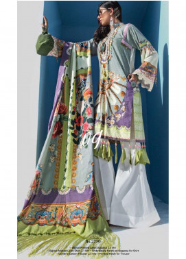 Yes Clothing | Yes - Young Energetic Social Embroidered Lawn Unstitched 3 Piece Suit YS20SL 9 - Summer Collection