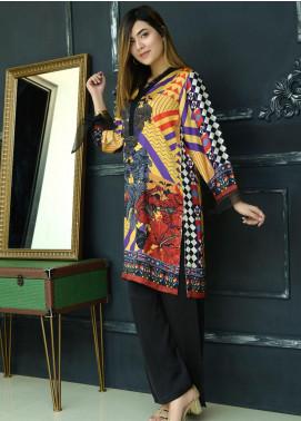 Yusra Ansari Fancy Silk Stitched Kurti YA20EG Yn-02 (Paikar-e-Husn)