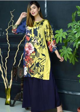 Yusra Ansari Fancy Silk Stitched Kurti YA20EG Yn-07 (Gulzar)