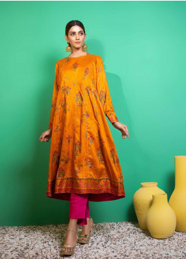 Yusra Ansari Printed Linen Stitched 2 Piece Suit YA20WS Aiyana-Ywi-06