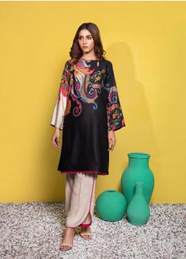 Yusra Ansari Printed Linen Stitched 2 Piece Suit YA20WS Emaya-Ywi-02