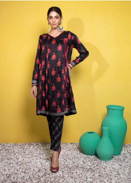 Yusra Ansari Printed Linen Stitched 2 Piece Suit YA20WS Meira-Ywi-05