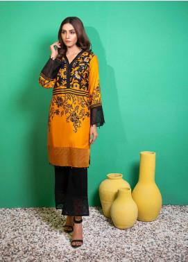 Yusra Ansari Printed Linen Stitched 2 Piece Suit YA20WS Riona-Ywi-03