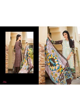 Al Zohaib Embroidered Lawn Unstitched 3 Piece Suit ZA PL 10A