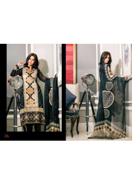 Al Zohaib Embroidered Lawn Unstitched 3 Piece Suit ZA PL 1B