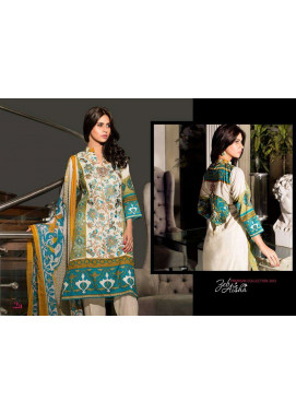 Al Zohaib Embroidered Lawn Unstitched 3 Piece Suit ZA PL 2A