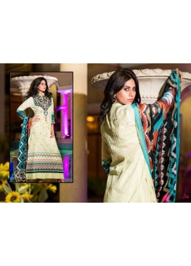 Al Zohaib Embroidered Lawn Unstitched 3 Piece Suit ZA PL 5A
