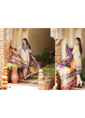 Al Zohaib Embroidered Lawn Unstitched 3 Piece Suit ZA PL 5B
