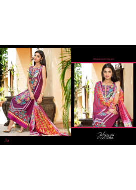 Al Zohaib Embroidered Lawn Unstitched 3 Piece Suit ZA PL 7A