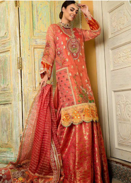 Zah-e-Naseeb by Asifa & Nabeel Embroidered Missouri Unstitched 3 Piece Suit AN20ZN 02 MAHJABEEN - Festive Collection