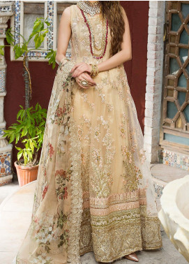 Zah-e-Naseeb by Asifa & Nabeel Embroidered Net Unstitched 3 Piece Suit AN20ZN 06 NOORI - Festive Collection