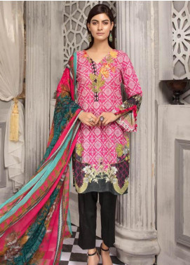 Zahra By Riaz Arts Printed Chikankari Unstitched 3 Piece Suit ZHR19CK 4 - Mid Summer Collection
