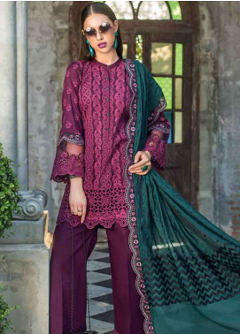 Zainab Chottani Embroidered Chikankari Unstitched 3 Piece Suit ZC19CK 5B COLOURSCAPE FUSION - Luxury Collection