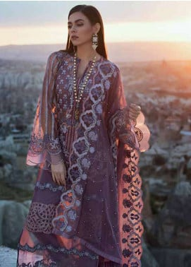 Zainab Chottani Embroidered Zari Net Unstitched 3 Piece Suit ZC18F 06 - Luxury Formal Range