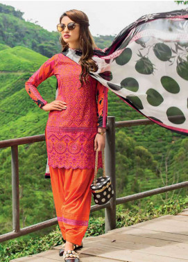 Zainab Chottani Embroidered Lawn Unstitched 3 Piece Suit ZC19L 7A MEERAH SUKA - Spring / Summer Collection