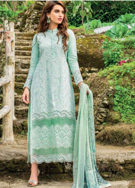 Zainab Chottani Embroidered Lawn Unstitched 3 Piece Suit ZC19L 8B PASTEL POISE - Spring / Summer Collection