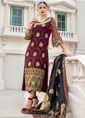 Zainab Chottani Embroidered Chiffon Unstitched 3 Piece Suit ZC20WF 04 Riwayat - Wedding Collection