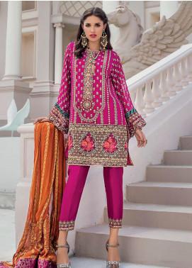 Zainab Chottani Embroidered Chiffon Unstitched 3 Piece Suit ZC20WF 05 Angan - Wedding Collection