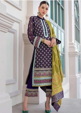 Zainab Chottani Embroidered Chiffon Unstitched 3 Piece Suit ZC20WF 07 Riwaaj - Wedding Collection