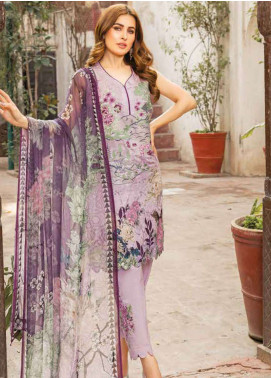 Zara Ali by Magns Textiles Embroidered Jacquard Unstitched 3 Piece Suit ZRA19L 02B - Spring / Summer Collection