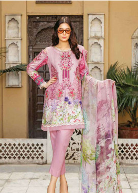 Zara Ali by Magns Textiles Embroidered Jacquard Unstitched 3 Piece Suit ZRA19L 03B - Spring / Summer Collection