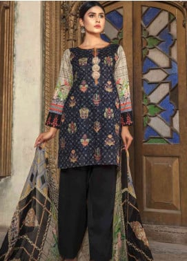 Zara Ali by Magns Textiles Embroidered Lawn Unstitched 3 Piece Suit ZRA19SL 2A - Spring / Summer Collection