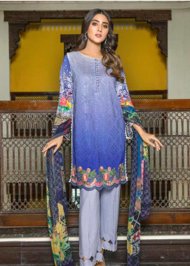 Zara Ali by Magns Textiles Embroidered Viscose Unstitched 3 Piece Suit ZRA19VK 01 B - Winter Collection