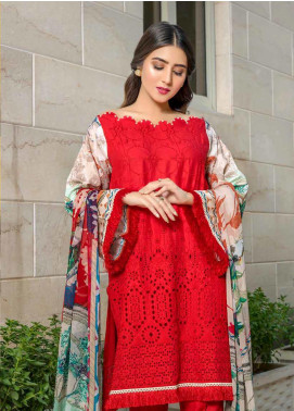 Zara Ali by Magns Textiles Embroidered Viscose Unstitched 3 Piece Suit ZRA19VK 03 A - Winter Collection
