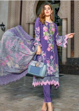 Zara Ali by Magns Textiles Embroidered Viscose Unstitched 3 Piece Suit ZRA19VK 07 B - Winter Collection
