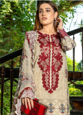 Zara Ali by Magns Textiles Embroidered Viscose Unstitched 3 Piece Suit ZRA19VK 09 A - Winter Collection