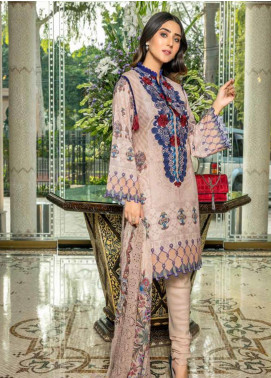 Zara Ali by Magns Textiles Embroidered Viscose Unstitched 3 Piece Suit ZRA19VK 09 B - Winter Collection
