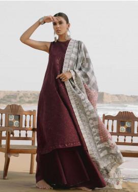 Zara Shahjahan Embroidered Lawn Unstitched 3 Piece Suit ZSJ19LH 5 ZAMUR - Festive Collection