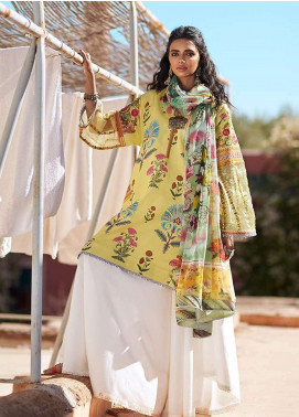 Zara Shahjahan Embroidered Lawn Unstitched 3 Piece Suit ZSJ19L JEHAN A - Spring / Summer Collection