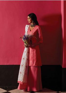 Zara Shahjahan Embroidered Schiffli Unstitched 3 Piece Suit ZSJ19L SEHER A - Spring / Summer Collection