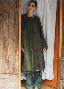 Zara Shahjahan Embroidered Linen Unstitched 3 Piece Suit ZSJ20W 01 Nazneen - Winter Collection