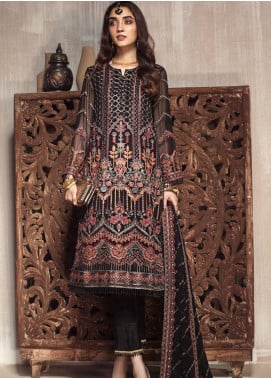 Zarif Embroidered Chiffon Unstitched 3 Piece Suit ZF20MG 06 GULZAR - Luxury Collection