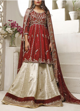 Fayon Embroidered Raw Silk Stitched 3 Piece Suit FN-Z146 Rofella